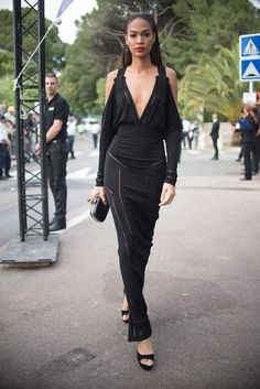 Joan Smalls in Givenchy/ Cannes 2015