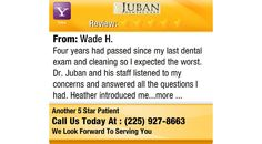 Four years had passed since my last dental exam and cleaning so I expected the worst. Dr....