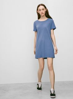 Talula Blanco Dress. The Perfect Day To Night Piece: The T-Shirt Dress