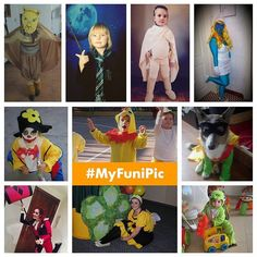 #MyFuniPic :WINNERS FOR WEEK 2  These are the 10 winners pictures for the week. They have been chosen randomly among all participants from Instagram facebook email and Twitter. If you are one them please DM so that we send can send you the picture framed by @cheerz . If you didnt win this time you will enter in the draw for the overall prize (Ipad Air) and remember that every week you can participate and win: Just post your pictures with costumes and tag them with both hashtags #MyFuniPic…