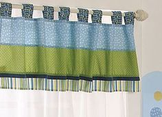COCALO Baby : Nursery Collections : Turtle Reef Window Valance