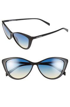 Steve+Madden+58mm+Cat+Eye+Sunglasses+available+at+#Nordstrom #stevemadden #cateye