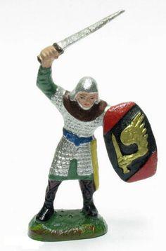Die Ritterserie von Durso  Von 1934-1988 wurden Masse Figuren von der belgischen Firma Durso hergestellt. Sie finden hier Abbildungen der Barbaren-, Normannen- und der Ritterserie. Die Figuren sind ca. 8 cm groß und besonders in Belgien und Frankreich sehr beliebt.  Die Ritterserie von Durso  Von 1934-1988 wurden Masse Figuren von der belgischen Firma Durso hergestellt. Sie finden hier Abbildungen der Barbaren-, Normannen…