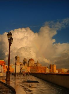 This makes me want to go back! Cadiz, Spain.
