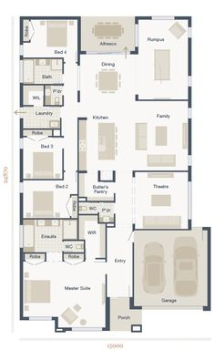 1000 Images About House Floorplans On Pinterest