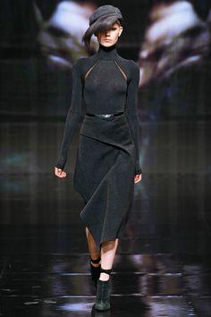Donna Karan #draped #skirt