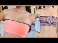 MUST MAKE! Also try to add bra cups? DIY: How to Reversible Bandeau Bra
