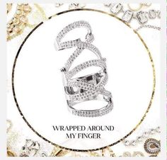 Traci Lynn Fashion Jewelry   My Favorite:  Wrap Around My Finger Ring  www.tracilynnjewelry.net/12517