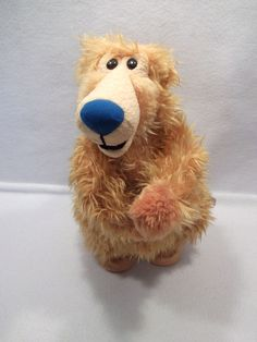 "2000 Bear in the big blue house cha cha dancing singing 14"" plush toy USED"