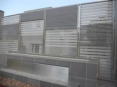 Great use of the profile for this #Eva-tech screen, creating privacy at a residential property in Johannesburg. http://www.eva-tech.com/en/