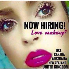 #makeup #job #USA #UK #CANADA #NZ #AUS www.flutterandsparkle.org