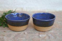 Sake Cup set of 2 ceramic small teacup by ManuelaMarinoCeramic