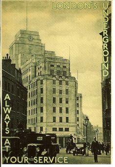 #oldstnewrules #artdeco #architecture #london #underground #illustration #poster #vintage #londonunderground #transport