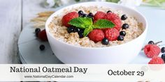 The oatmeal breakfast; is oatmeal healthy or not? Granola, 10 Minute Meals, Cholesterol Lowering Foods, Lowering Ldl, Cholesterol Symptoms, Cholesterol Levels, Fatty Fish, Cookies Et Biscuits, Food Items
