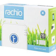RACHIO - Iro 16-Zone Wi-Fi-Enabled Sprinkler System Controller - White - Alternate View 1