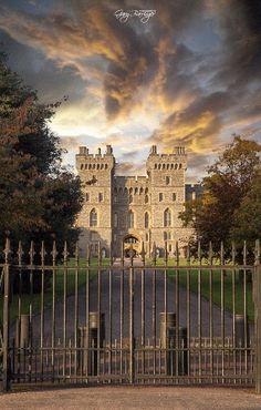 Windsor Castle, Berkshire, England.
