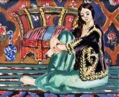 Odalisque assise, par Henri Matisse