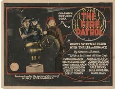 Lobby Card from the film The Fire Patrol
