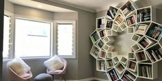 Feast Your Eyes on the Amazing DIY Bookcase This Couple Made for Their Kidscountryliving