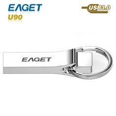 high speed usb flash drive 3.0 Eaget metal usb 3.0 16GB 32GB 64GB pen drive waterproof shockproof External Storage pendrive