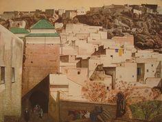 Kasbahs de l'Atlas (Série de 30 oeuvres ) de Majorelle
