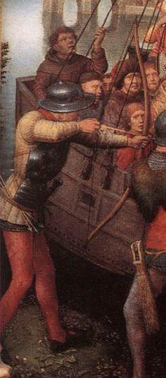 Hans Memling St Ursula Shrine c. 1489. Memlingmuseum, Sint-Janshospitaal, Bruges