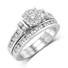 *Extra 10% off on our store plus No Shipping Charges! Period. 10K White Gold 1 ... Check it out here! http://shirindiamond.net/products/10k-white-gold-1-ct-tw-diamond-fashion-bridal?utm_campaign=social_autopilot&utm_source=pin&utm_medium=pin