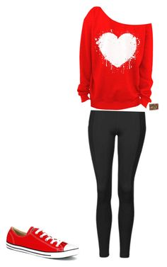 """""""Untitled #9"""" by antoni-huggins on Polyvore featuring Topshop and Converse"""