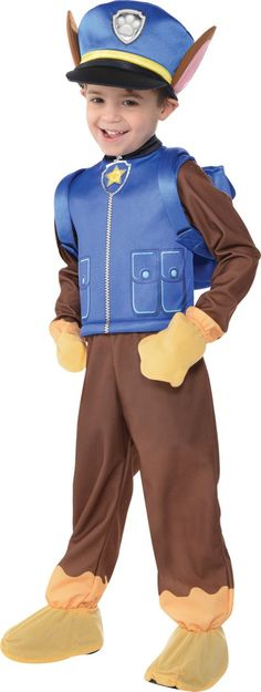 Toddler Boys Chase Costume - PAW Patrol - Party City