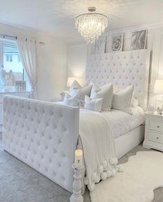 Home Interior Salas .Home Interior Salas White Bedroom Decor, Glam Bedroom, Stylish Bedroom, Room Ideas Bedroom, Home Decor Bedroom, Earthy Bedroom, Bedroom Interiors, Kids Bedroom, Girl Bedroom Designs