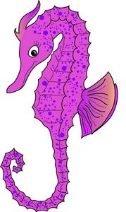 Cartoon Seahorse Pictures Clip Art