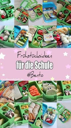 Bento Brotdosen Frühstücks Ideen für Kinder für die Schule, bentgo und yumbox