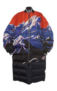 Scenic Print Reversible Down Jacket by EMILIO PUCCI for Preorder on Moda Operandi