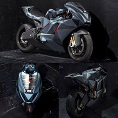 """Black Polygon"" by Death Spray Customs 