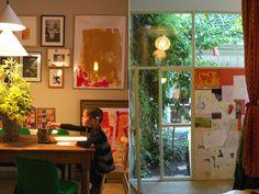 中庭のある家 in バルセロナ の画像|布職人の暮らしの手帖 in ニューヨーク♡