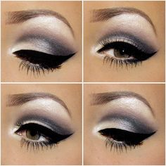 See How to Create The Perfect #Smokey #Eye on: http://mymakeupideas.com/how-to-create-the-perfect-smokey-eye/