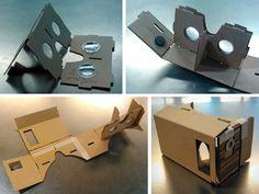 DIY Google Cardboard viewer - assembling