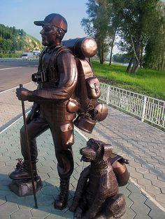 Памятник Туристу в Горном Алтае