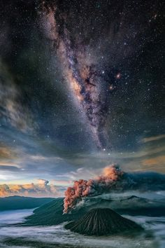 The Perfect World. Welcome \O/ - lsleofskye: Bromo - an active volcano during...