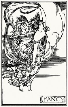 Fancy.Robert Anning Bell, from Poems by John Keats, London, New York, 1897.