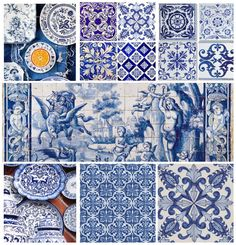 Mapped The History Of Portugal, On The Basis Of Azulejo Tiles Sintra Portugal, Spain And Portugal, Portugal Travel, Spain Travel, Pierre Frey, History Of Portugal, Bon Plan Voyage, Splashback Tiles, Voyage Europe