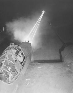 P-38 machine gun firing test. 50 caliber machine guns firing with every 5th shell a tracer in 3 second bursts.