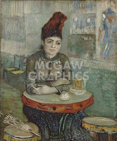 In the Cafe: Agostina Segatori in Le Tambourin, 1887