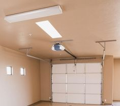 LED garage lighting for small garage   Home Interiors