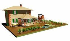 #Farm with #Garden-#3D © bluedarkat