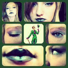 The Riddler makeup inspiration