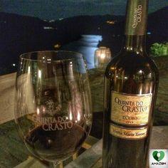 Drinking Vinha Maria Teresa on a full moon night. Memorable! ;) #Douro #Portugal #QuintadoCrasto