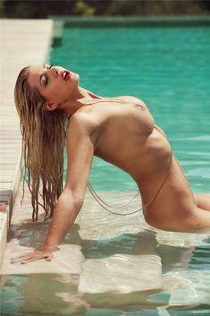 Девушка месяца Сара Новак / Sarah Nowak - Playboy Germany august 2014