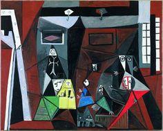 Picasso infinito | Fotogalería | Cultura | EL PAÍS  'Las Meninas', 1957. Óleo sobre lienzo, 129 x 161 cm. Donación Pablo Picasso, 1968. Museu Picasso, Barcelona. © GASULL / SUCESIÓN PABLO PICASSO, VEGAP, MADRID, 2014