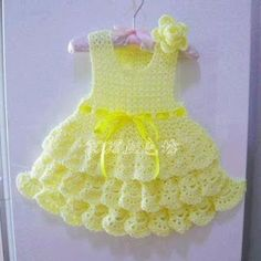 Croche pro Drink: Dresses in crochet